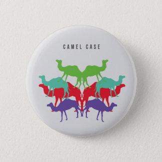 Bouton de cas de chameau badge