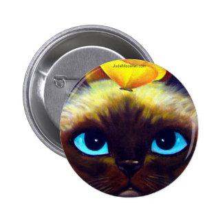 BOUTON DE CAT SIAMOIS PIN'S