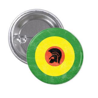 Bouton de cible de mod de la Jamaïque Badge Rond 2,50 Cm
