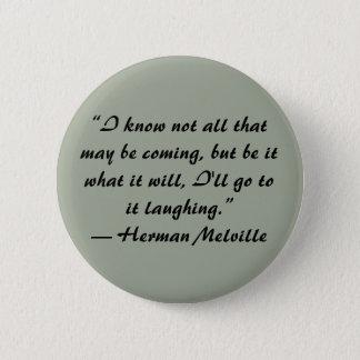 Bouton de citation de Herman Melville Badges