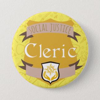 Bouton de classe de justice sociale : badge