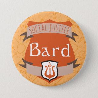 Bouton de classe de justice sociale : Barde Badges