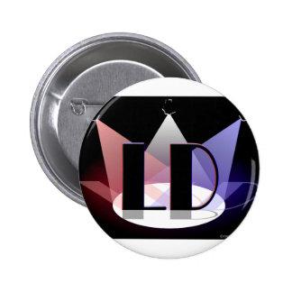 Bouton de concepteur d'éclairage badge rond 5 cm