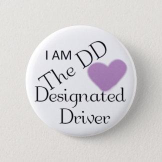 Bouton de conducteur indiqué badge