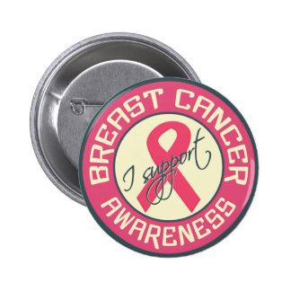 Bouton de conscience de cancer du sein pin's