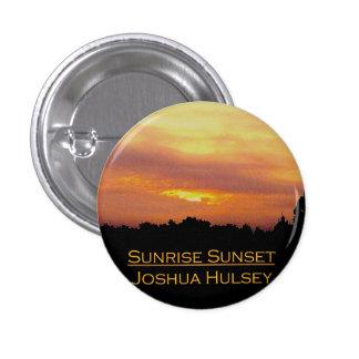 Bouton de coucher du soleil de lever de soleil badge
