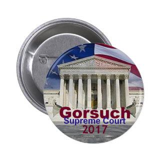 Bouton de court suprême de Neil GORSUCH Pin's