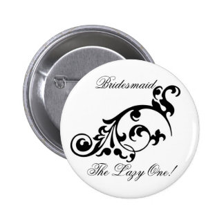 Bouton de demoiselle d honneur de Flourish le par Badges Avec Agrafe