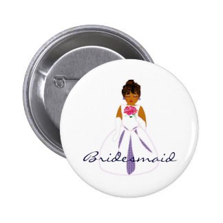 """Bouton de """"demoiselle d'honneur"""" - personnalisable badge"""