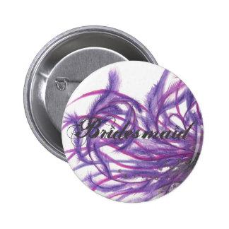 Bouton de demoiselle d'honneur pin's