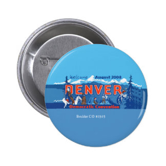 Bouton de Denver Co de convention de DNC Pin's