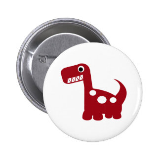 bouton de Dino-acarides Badge Rond 5 Cm
