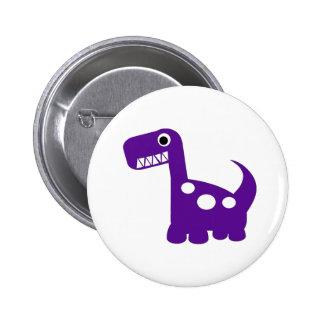 bouton de Dino-acarides Badges Avec Agrafe