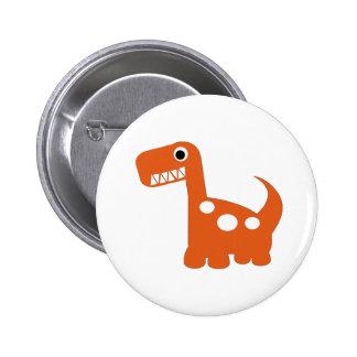 bouton de Dino-acarides Pin's Avec Agrafe