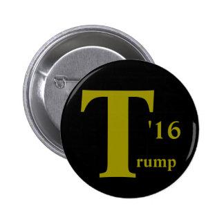 Bouton de Donald Trump 2016 Badge