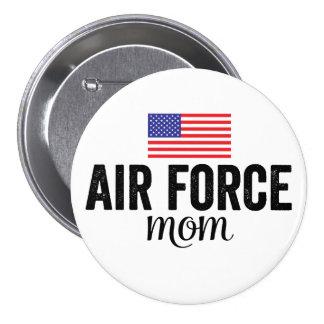 Bouton de drapeau américain de maman de l'Armée de Badge Rond 7,6 Cm