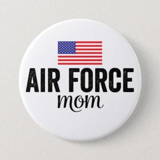 Bouton de drapeau américain de maman de l'Armée de Badges