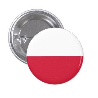 Bouton de drapeau de la Pologne Badge Avec Épingle