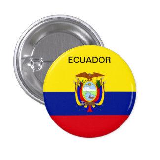 Bouton de drapeau de l'Equateur Badges