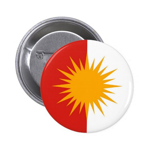 Bouton de drapeau de Yezidi Pin's