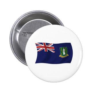 Bouton de drapeau des Îles Vierges britanniques Badges