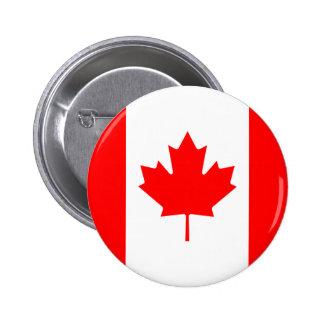 Bouton de drapeau du Canada Badge