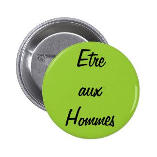 Bouton de Etre Hommes aux Badge Avec Épingle