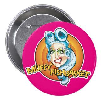 Bouton de fan de Muffy Fishbasket Badge