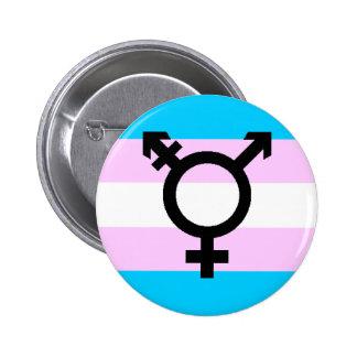 Bouton de fierté de transport - avec le symbole badge