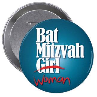 Bouton de fille de bat mitzvah femme badges avec agrafe