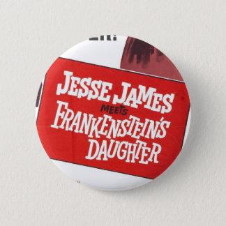 Bouton de fille de Jesse James Frankenstein Badges
