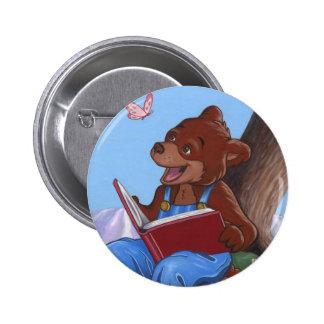 Bouton de forêt de Storytime Badge Rond 5 Cm
