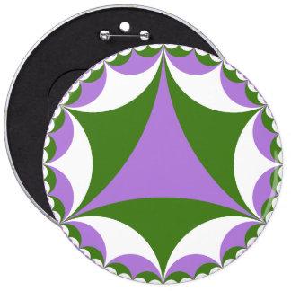 Bouton de fractale de Genderqueer Badges