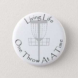 Bouton de golf de disque badge