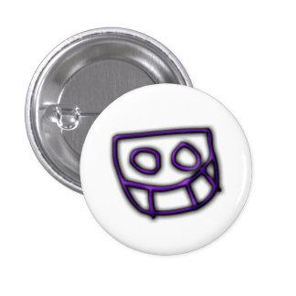 Bouton de Grinny de pignon du DJ [pourpre] Badge
