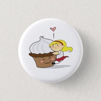 Bouton de Hugger Cutie de petit gâteau Badge