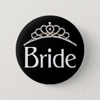 Bouton de jeune mariée badge