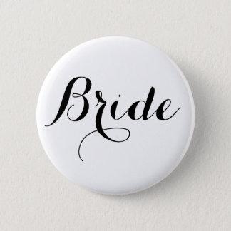 Bouton de jeune mariée badges