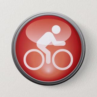 Bouton de jour de course de CYCLE de triathlon Pin's