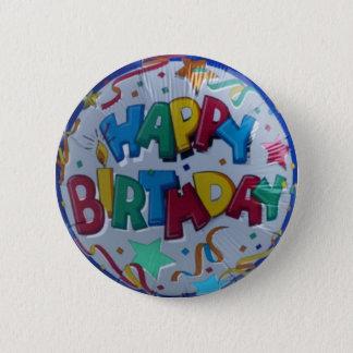 Bouton de joyeux anniversaire pin's