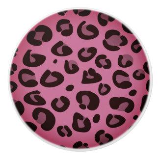 Bouton de Keramic : tigre rose