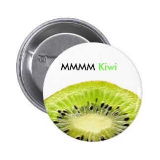Bouton de kiwi badge rond 5 cm