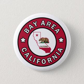 Bouton de la Californie de région de baie Badges