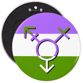 Bouton de la révolution LGBTQA Genderqueer de Pin's