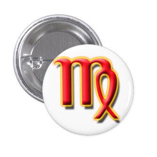 Bouton de la Vierge #1 Badge Avec Épingle