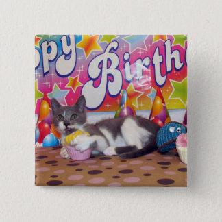 Bouton de l'anniversaire de Bob Badges