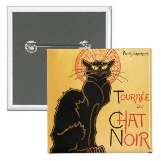 Bouton de Le Chat Noir Badge Carré 5 Cm