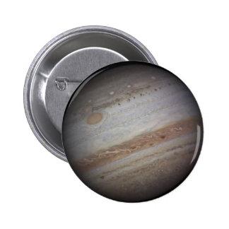Bouton de l'espace de Jupiter de planète Badges