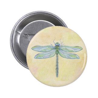 Bouton de libellule pin's