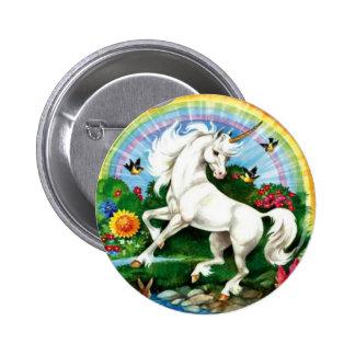 Bouton de licorne badge